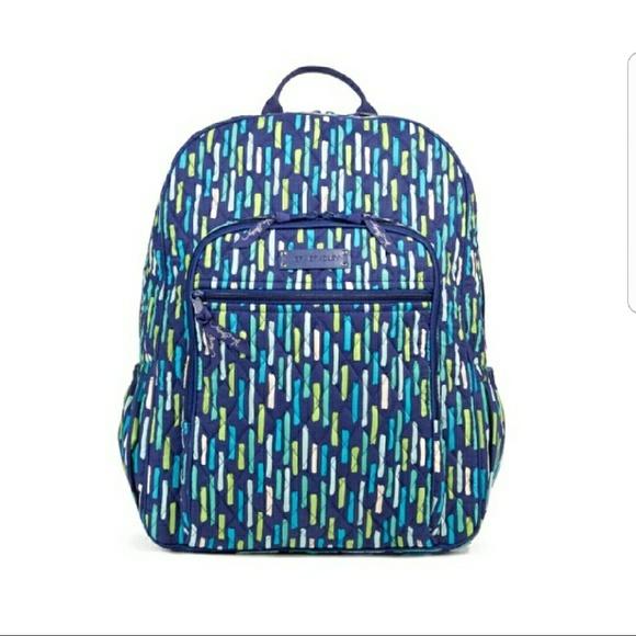 27df43d946 NWT Vera Bradley Campus Tech School Backpack Bag